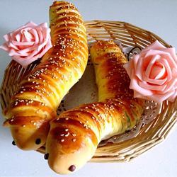 毛毛虫面包的做法[图]