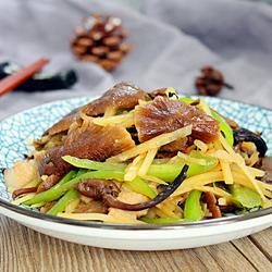 榛蘑炒土豆