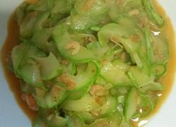 虾米炒绞瓜