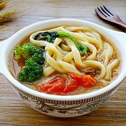 蔬菜肉丝面的做法[图]
