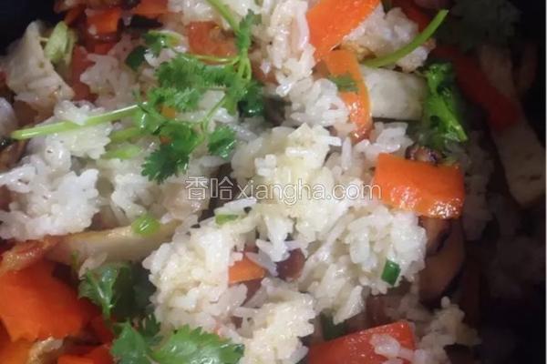 飘香糯米拌饭