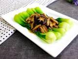 香菇扒油菜的做法[图]