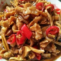 蠔油香菇炒肉的做法[圖]