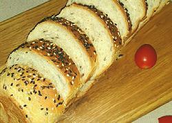 全麦亚麻籽吐司面包
