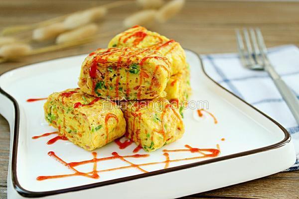韩式鸡蛋卷