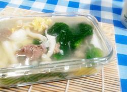 芥菜鲜菇汤