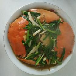 红烧青蟹的做法[图]
