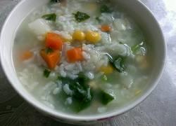 五彩蔬菜粥
