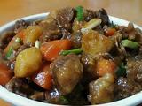 土豆胡萝卜烧牛腩的做法[图]