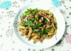 三丝会首(肉、香菇、青椒)