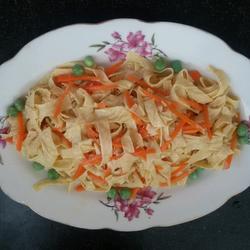 胡萝卜拌油皮豆腐的做法[图]