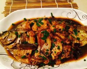 干烧鳊鱼[图]