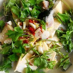 老豆腐炖麒麟鱼