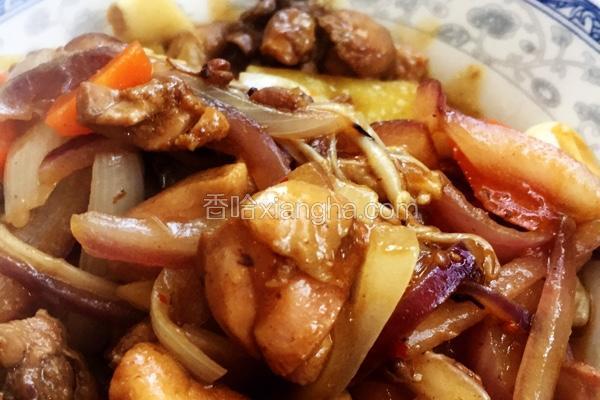 麻辣香锅炒鸡