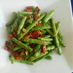 干煸四季豆的做法[图]