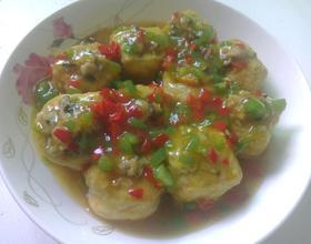 蒸酿豆腐[图]