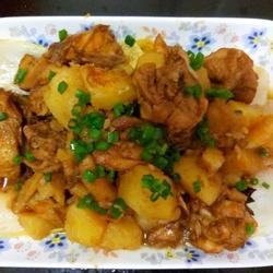 土豆燉雞的做法[圖]