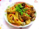 香菇瑶柱蒸鸡的做法[图]