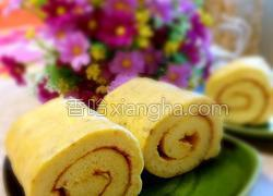 香蕉蛋糕卷