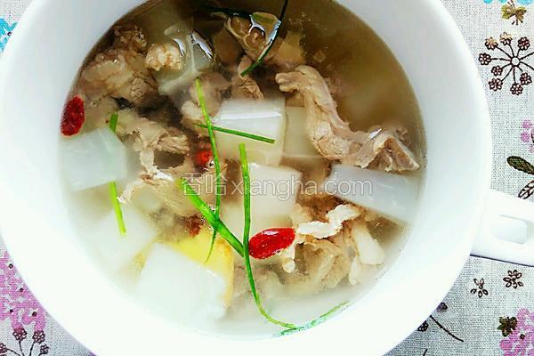 冬瓜羊肉汤