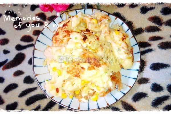 柠香玉米油馍糕