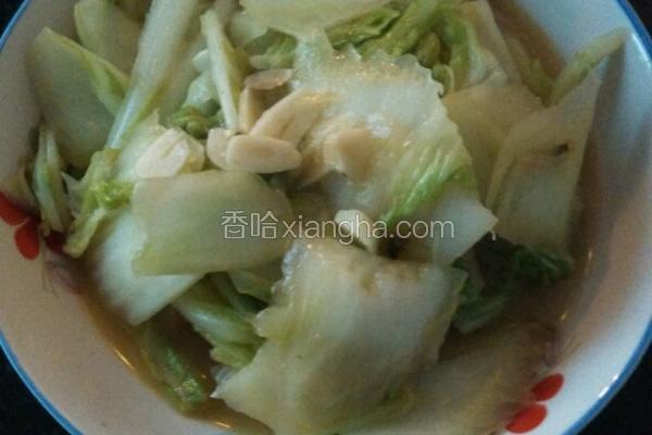 简易素炒白菜