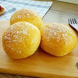 全麦椰蓉餐包的做法[图]