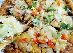 奥尔良鸡腿香菇披萨