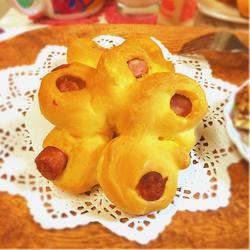 花式香肠面包的做法[图]