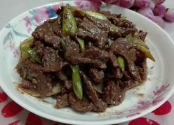 大葱炒牛肉