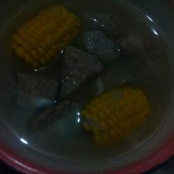 槟榔芋炖玉米