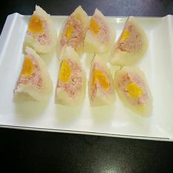 蛋黄糯米蒸