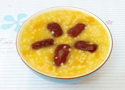 南瓜小米红枣粥