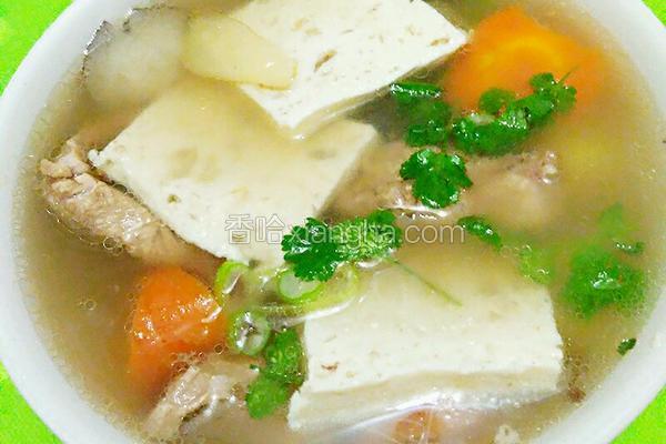 排骨肉燕汤