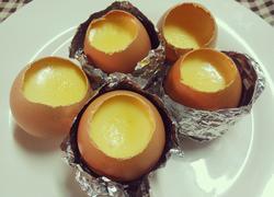 鸡蛋壳布丁