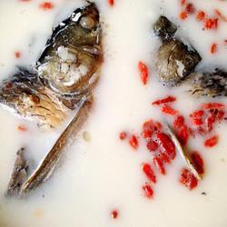 枸杞鱼头汤的做法[图]