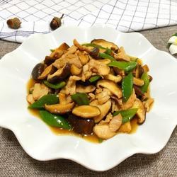 香菇炒肉的彩票做法[图]