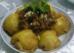 嘎巴锅牛肉土豆