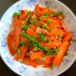 胡萝卜炒肉的做法[图]