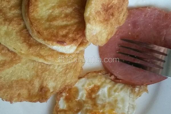 早餐里的馒头片