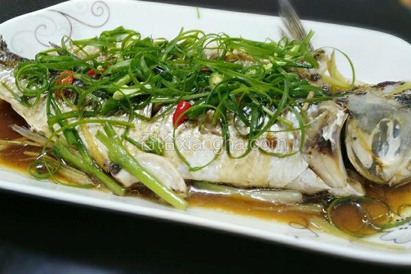 广式清蒸鱼