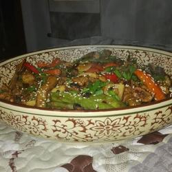 风味香麻牛肉干锅