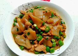 瘦肉青椒炒魔芋