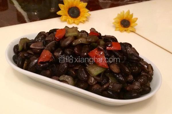 水煮五香黑豆