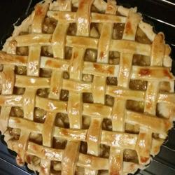 【杰西卡厨房】香甜苹果派(编织8寸)