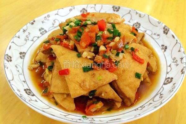 剁椒焖豆腐