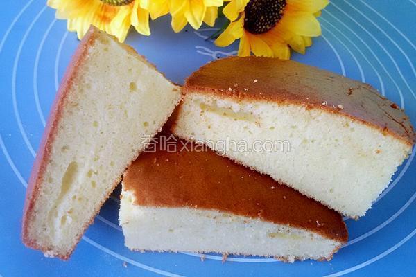 全蛋海绵蛋糕配方_法式全蛋椰粉海绵蛋糕的做法_菜谱_香哈网