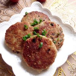 香煎藕餅的做法[圖]