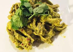 牛油果麻辣菠菜面avocado spinach pasta