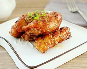 蒜香煎鸡翅[图]